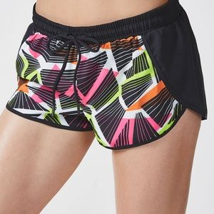 NWT FABLETICS CARRIE GYM RUNNING SHORTS XS